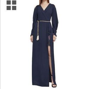 BCBG gown.